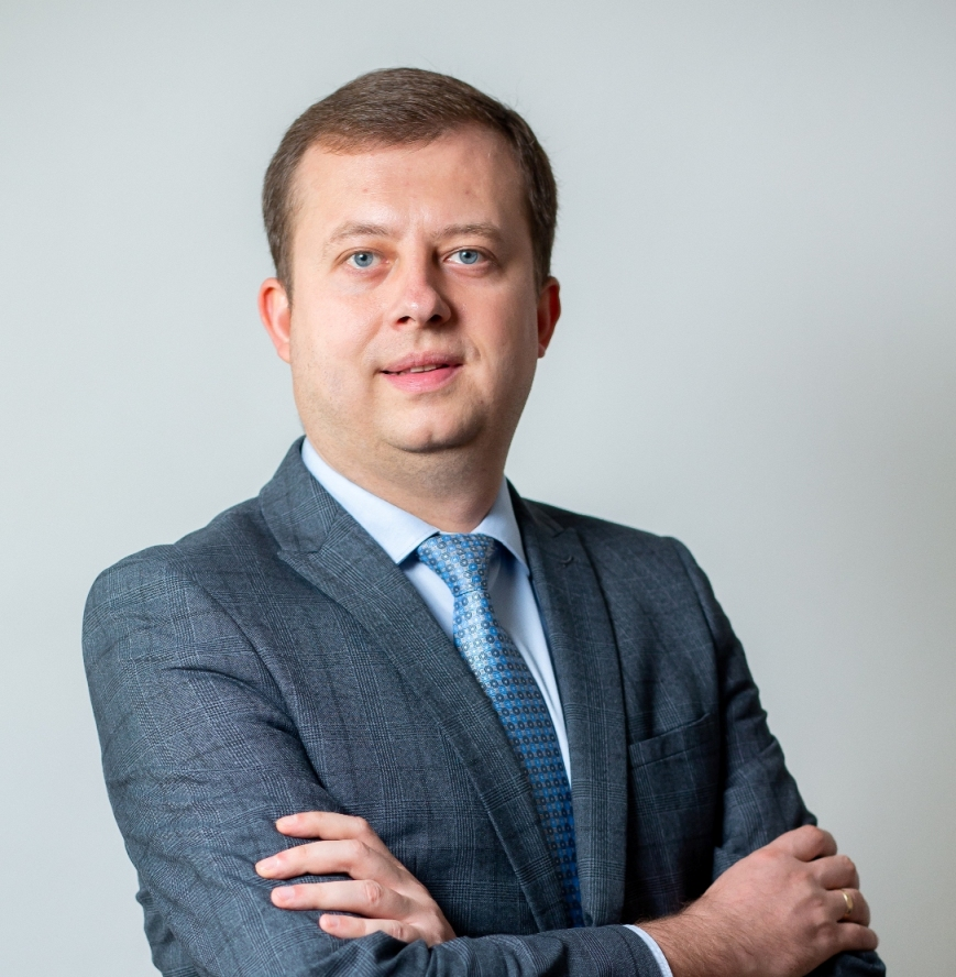 Vitaliy Romanchukevych, first Deputy Chairman of the Board